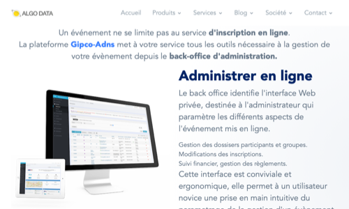 Gestion d'evenement