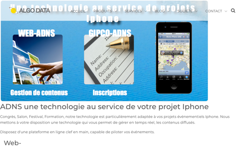 Solutions Iphone Evenementielles