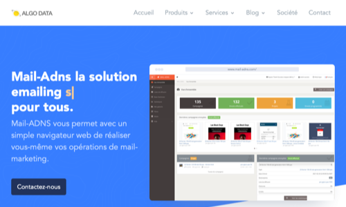 Mail-Adns, le mail marketing Web 2.0